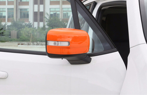 Jeep renegade rear view door mirror side cover including postage