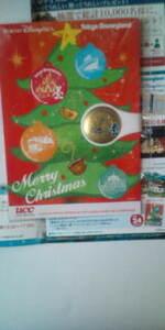 2006 UCC オリジナル クリスマスカード&マグネット 磁石 新品 東京ディズニーシー ディズニーランド ミニーちゃん ミッキー 非売品
