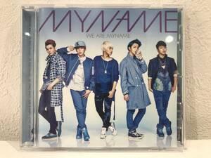 ★【K-POP CDアルバム】WE ARE MYNAME(マイネーム) ★美品 送料180円~