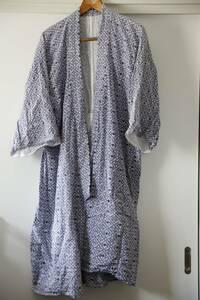 着物 浴衣 寝巻 パジャマ 男女不明 レトロ 柄 身丈:約103cm 裄:61cm 肩巾30cm