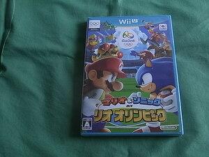 ◆即決 任天堂WiiU マリオ&ソニック AT リオオリンピック wii u 新品未開封