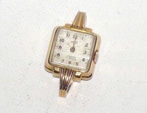 Ancre Malaz (лодыжка) антикварные женские часы ручной прокат 812159BL348EC04