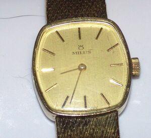 Milus (Milis) Женские часы Ручной рулонной 805572BL155E31