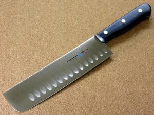 関の刃物 菜切り包丁 17.5cm (175mm) TSマダム ディンプル クロムモリブデン ステンレス 家庭用野菜切り両刃包丁 大根のかつらむき 日本製
