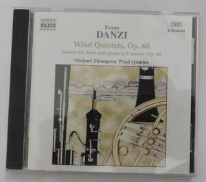 Franz Danzi 木管五重奏曲 Op.68の商品画像