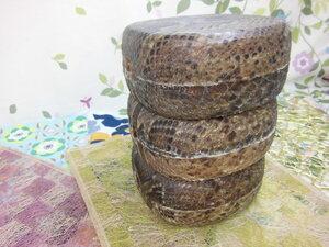 (送料無料)28.980円 沖縄三線専用蛇皮強化(二重張)型チーガ 三個一括販売  業者様大歓迎