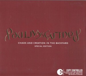 ◆【中古輸入盤・送料無料】ポール・マッカートニー / Chaos and Creation in the Back 【初回限定盤 CD+DVD】