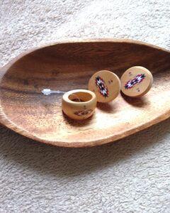 Ethnic Ring Earrings Set