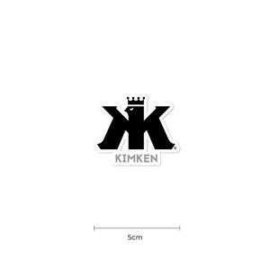 【KIMKEN Logo ステッカー】フィッシングステッカー/木村健太/キムケン フィッシング/depsデプス/アブガルシア 5㎝