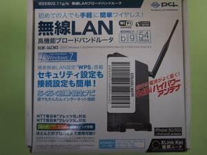 プラネックスコミュニケーションズ  ブロードバンドルーターBLW-54CW3