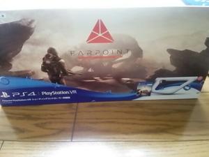PS4 Farpoint PlayStation VR シューティングコントローラー 同梱版 VR専用 ファーポイント 特典コード