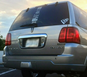 03y~06y/Lincolnリンカーン Navigatorナビゲーター エクスペディション LED スモークハイマウントランプ 美品!