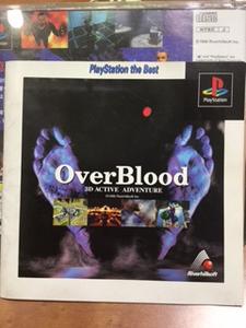 ソニー プレイステーションソフト Over Blood オーバーブラッド