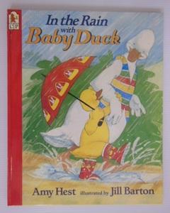 幼児用絵本・洋書英語版・In The Rain with Baby Duck・エイミー ヘスト・送料無料