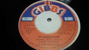 12inch org Freddie McGregor [no competition] ex- フレディーマクレガー レゲエ reggae オリジナル roots ルーツ jamaica ジャマイカ