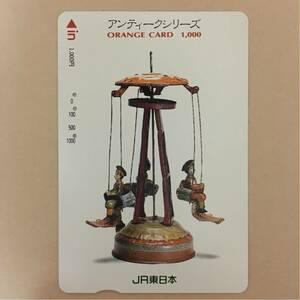 【使用済】 オレンジカード JR東日本 アンティークシリーズ