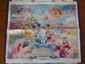 即決♪新品未使用♪東京ディズニーシー 15周年記念 グランドフィナーレ 特大 ショッピングバッグ♪TDR TDL TDS