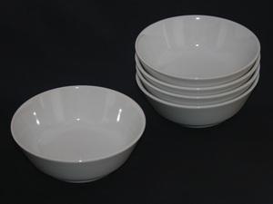 白い磁器 サラダボウル 5個セット 新品