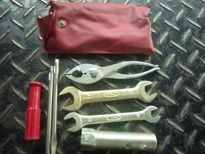 ホンダ純正 赤の袋 工具セット