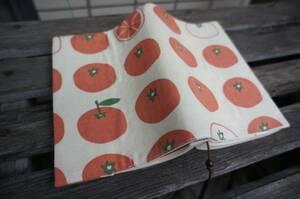 ручная работа : обложка для книги : библиотека книга@: мандарин .... orange