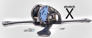 AquaPC★GEPRC GEP LSX5 230mm Carbon Fiber FPV Racing Frame★