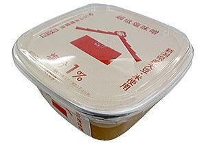 【送料無料】健幸みそ減塩 塩分1%  新潟県産大豆使用  みそ450グラム×4個  健康みそ
