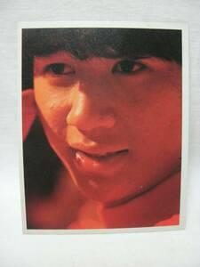 ☆近藤真彦 ブロマイド カード☆00011