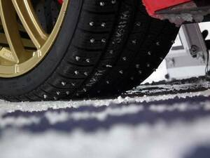 * ultimate spike stud the best grip studded snow tire Enduro Rally tire