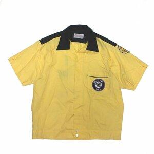 ビンテージ 60's ★DUNBROOKE ★ ボーリングシャツ アメリカ製 チェーン刺繍