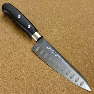 関の刃物 ペティナイフ 13cm (130mm) ディンプル チタンコーティング 果物包丁 野菜 果物の皮むき 飾り切り 小型両刃 右利き用 日本製