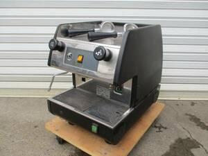 【限定SALE!】y544-19 PAVONI コーヒーマシン 100V W370×D520×H510 中古 厨房