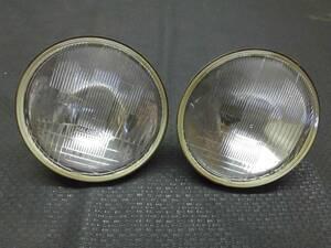 ■■ハロゲンヘッドライト左右セット JA22W Jimny/ジムニーLandventude 破損なし レンズ割れなし H4 ベース(検索 JA11/12/71/SJ30/汎用品