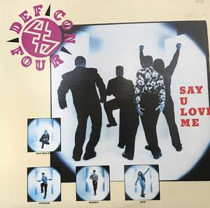 [12] Def Con 4 - Say U Love Me (90s Hip Hop) ☆Reprise Records 90年代 ヒップホップ ディスコ レコード Vinyl