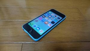 即落/即発!!ドコモ 美中古品 iPhone 5c 16GB ブルー