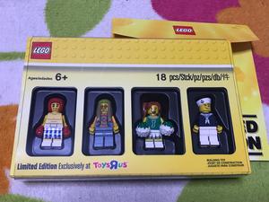 新品 配布終了 トイザらス限定 特典 クラッシクコレクション ミニフィグ LEGO レゴ ブロック フィギュア フィグ 非売品 セット
