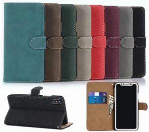 iPhone XS ケース iPhone X ケース アイフォンX カバー スマホケース 保護カバー 手帳型 カード収納 シンプル 復古調