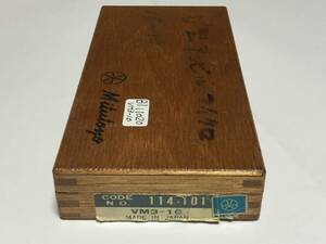 ミツトヨ V溝マイクロメータ VM3-10 BI11020