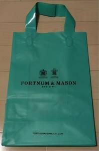 非売品 イギリス 王室御用達 フォートナム&メイソン F&M ショップ袋 紅茶 未使用新品