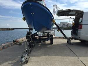 ☆ジェット &トレーラルボート専用の電動ヒッチクレーン