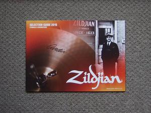 【カタログのみ】Zildjian 2016 SELECTION GUIDE CYMBALS & DRUMSTICKS 検 YAMAHA ジルジャン ドラム シンバル ドラムスティック