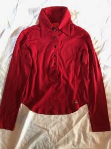 Vivienne Westwood Red Label/ヴィヴィアン・ウエストウッド・レッドレーベル シャツ レディース M 赤 美品 送料360
