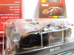 1/64 京商 サンクス フェラーリ4  360GTC 【黒】