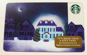 北米スターバックスカード2017ホリデー限定クリスマス デコレーション アメリカUSA海外スタバカード クリスマスツリー サンタ トナカイ