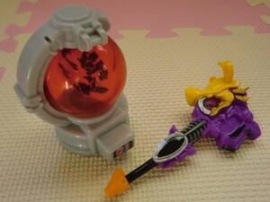 マクドナルド ハッピーセット おもちゃ 宇宙戦隊キュウレンジャー まわる!シシキュータマ&ガブガブ変身銃 DXリュウツエーダー