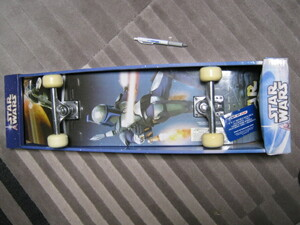 新品 STAR WARS スケートボード SPORT-FUN スケボー ジャンゴフェット スレーブ ボバフェット ボード スターウォーズ レア インテリア 海外