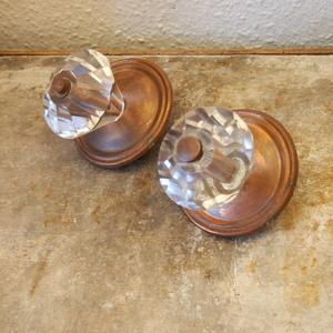 希少 アンティーク フランス 特大 ガラス 真鍮 取っ手 持ち手 フック ハンドル 扉 ドア引き出し キャビネット シャビー 工業系 古道具 家具