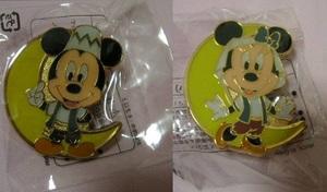 【非売品】ミッキー・ミニー ピンバッジ 2個 東京ディズニーシー TDS