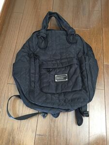 マークジェイコブス リュック 美品 確実正規品 送料700円 マザーバッグ マザーズバッグ