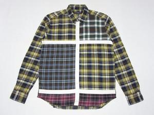 新品 CASH CA(カシュカ)ネルシャツ☆[Mサイズ] Heather Grey Wall(ヘザーグレーウォール) 倉石一樹 Fragment Design(フラグメントデザイン)