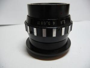 新品! VEGA-11U F/2.8 50MM M39 引き伸ばし用レンズ#737B